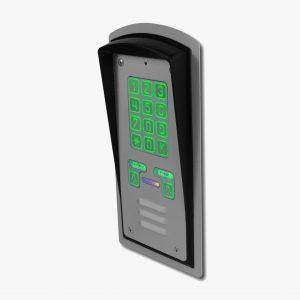 Domofon dwurodzinny z podświetlanym szyfratorem Radbit