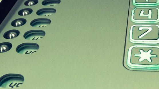 Domofon wielorodzinny z szyfratorem, analogowy, podtynkowy, do bloku