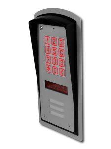 Cyfrowy domofon wielorodzinny z szyfratorem BRC