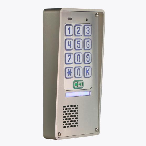 domofon jednorodzinny z szyfratorem, natynkowy, radbit