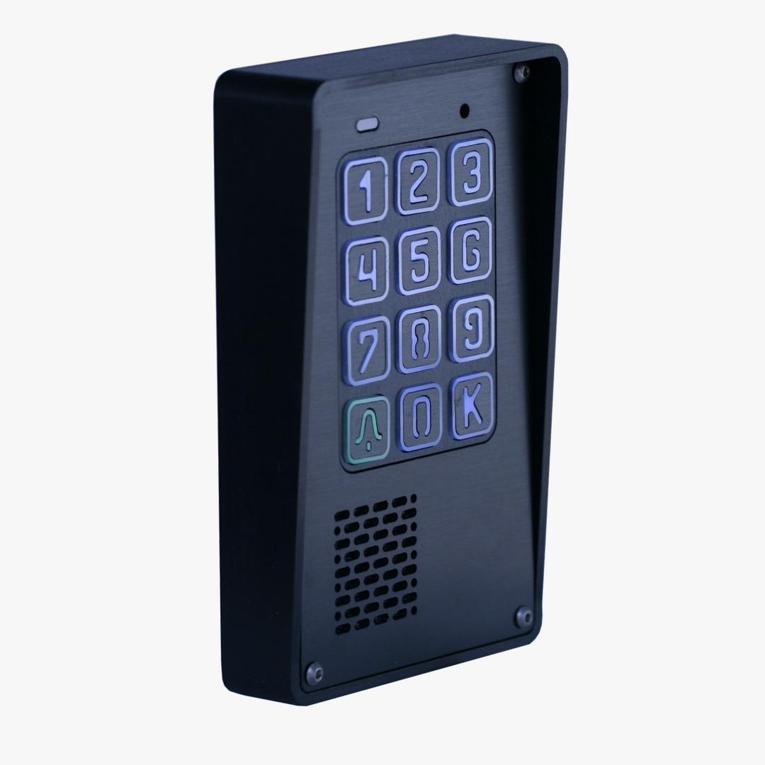 Cyfrowy domofon z szyfratorem, natynkowy, Radbit