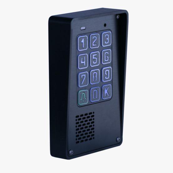 Cyfrowy domofon z szyfratorem, natynkowy