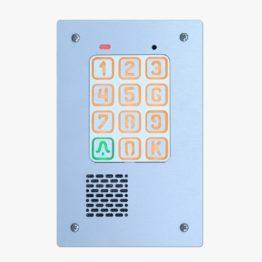 Cyfrowy domofon z szyfratorem, podtynkowy