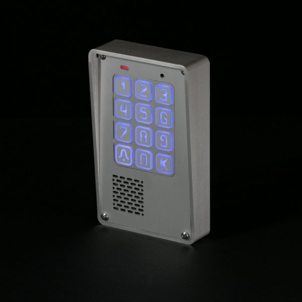 Cyfrowy domofon jednorodzinny z szyfratorem