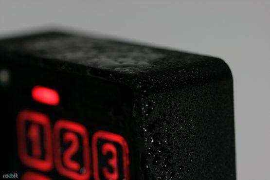 domofon z klawiaturą, odporny na deszcz i śnieg